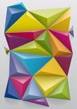 Tło od koloru ostrosłupa, odgórny widok Ty utrzymuje 3d formę możesz zmieniać kolor ilustracji