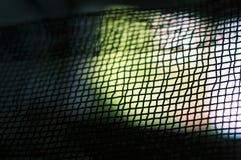 Tło od metal siatki czarny kolor obraz stock
