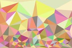 Tło od trójboków geometrycznych kształtów Obraz Royalty Free
