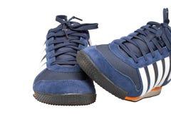 tło odizolowywał butów sporta biel Fotografia Royalty Free