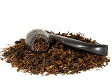 tło odizolowywający fajczany dymienia biel Zdjęcie Stock