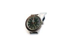 tło odizolowywający zegarka biel nadgarstek obraz royalty free