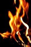 tło ogień Obrazy Royalty Free