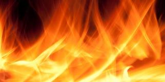 tło ogień Fotografia Royalty Free