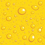tło opuszcza bezszwowego wektorowego kolor żółty Fotografia Stock
