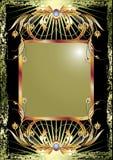 tło ornament czarny luksusowy ilustracji
