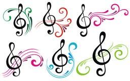 tło ostrej muzyki ilustracji