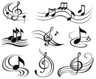 tło ostrej muzyki ilustracja wektor