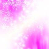 tło płatek śniegu Zdjęcie Stock