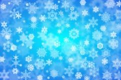 tło płatek śniegu Obrazy Stock