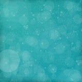 tło płatków śniegu biały niebieska zima Obraz Stock