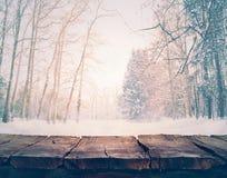 tło płatków śniegu biały niebieska zima Obrazy Royalty Free