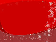 tło płatki śniegu Zdjęcie Stock