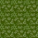 tło płytka chemiczna niekończący się deseniowa bezszwowa Wektorowy tło ilustracji