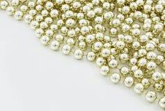 tło perły Fotografia Stock