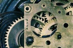 tło piękną mechanizmu zdjęcia prawda zegarek Obrazy Royalty Free