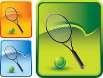 tło piłki kędzioru kanta rozprucia tenis Obrazy Royalty Free