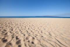 Tło plaża Obrazy Stock
