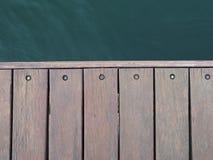 tło podłoga uwarstwiał teakwook tekstury drewno Obrazy Stock