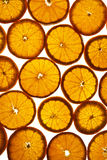 Tło pokrojone pomarańcze zdjęcie royalty free