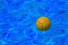 tło polo wody balowy kolor żółty Zdjęcie Royalty Free