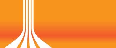 tło pomarańcze ilustracja wektor