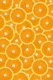 tło pomarańcze pokrajać Obrazy Royalty Free
