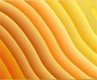 Tło pomarańczowi faliści lampasy Zdjęcie Royalty Free