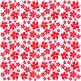Tekstury czerwieni różowi kwiaty Zdjęcie Stock