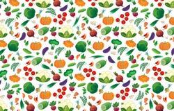 Tło różni warzywa Obraz Royalty Free
