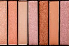 Tło różnorodny rumieniec dla makeup obraz royalty free