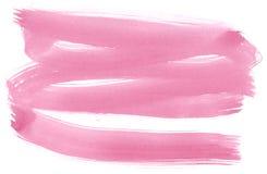 tło różowa akwarela Zdjęcie Stock