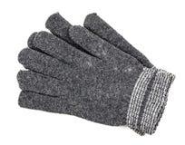 tło rękawiczki odizolowywali biały woolen obrazy stock