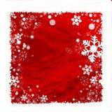 tło ramowy śnieg Fotografia Stock