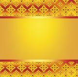Tło ramy wzoru linii tajlandzki ogień Obrazy Stock