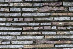 Tło robić z blokami kamienna ściana zdjęcia stock