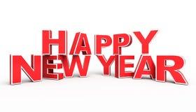 tło rok szczęśliwy nowy czerwony Zdjęcie Royalty Free