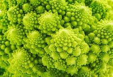Tło Romanesco spirali brokuły Zdjęcia Royalty Free