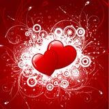 tło serca ilustracja wektor