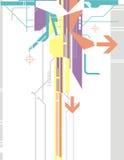 tło serii wysokiej technologii royalty ilustracja