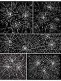 tło sieć deseniowa ustalona ii Obraz Stock