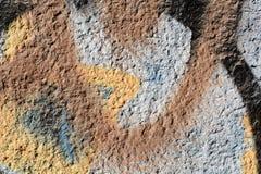 Tło stara malująca ściana Obraz Royalty Free