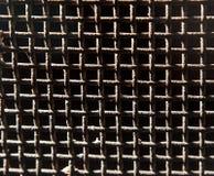 Tło stara ośniedziała metal siatka ilustracja wektor