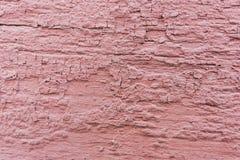 Tło stara różowa pelling farba Zdjęcia Royalty Free