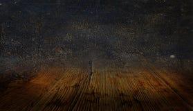Tło Stara skóra i drewno obrazy royalty free