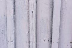Tło stare białe barwione deski Obrazy Stock