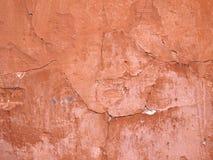 Tło stare krakingowe ściany budynek Zdjęcie Royalty Free