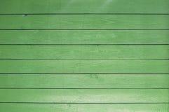 Tło stare malować zieleni deski obrazy stock