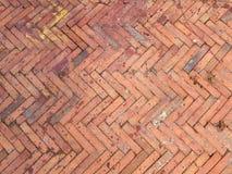 Tło stary ściana z cegieł Obraz Royalty Free