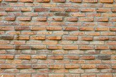 Tło stary ściana z cegieł Fotografia Stock